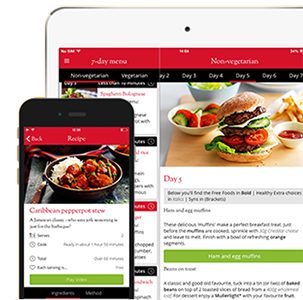 App developers uk mobile app development the distance york Slimming world app for members