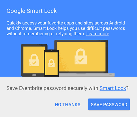 smart lock for android apps