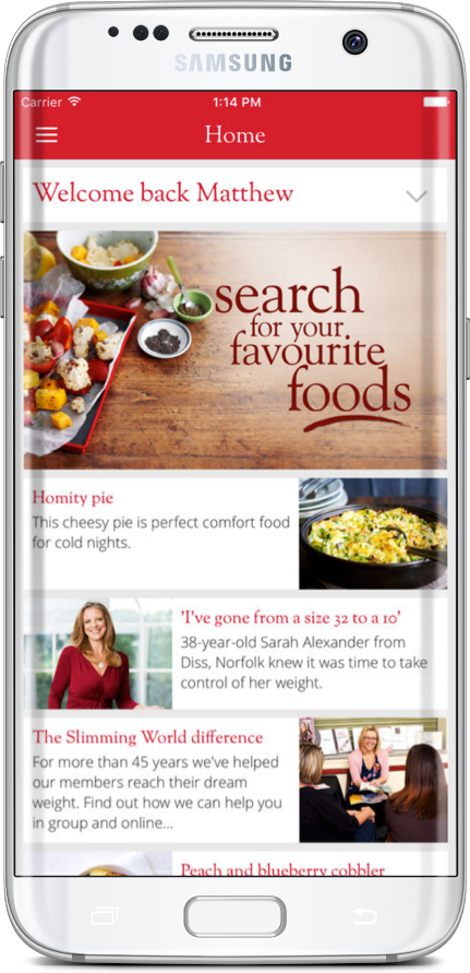 Slimming World Screenshot 1