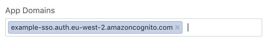 Setting up AWS Cognito and React Native to enable Federated SSO
