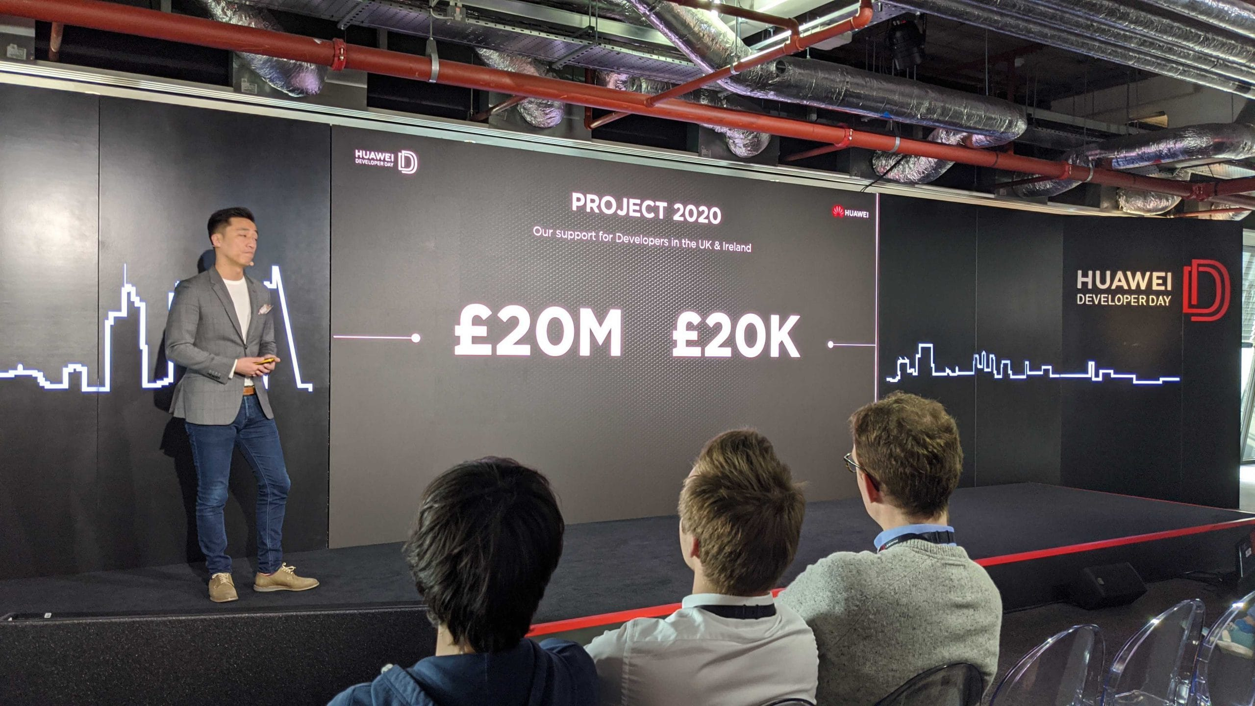 £20k Marketing Incentive from Huawei