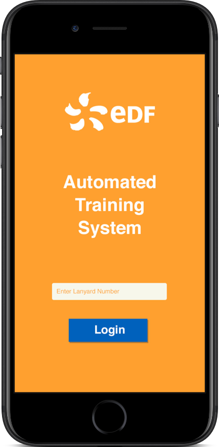 EDF Automated Testing System Screenshot 1