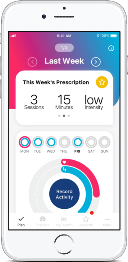 iPrescribe Exercise Screenshot 1